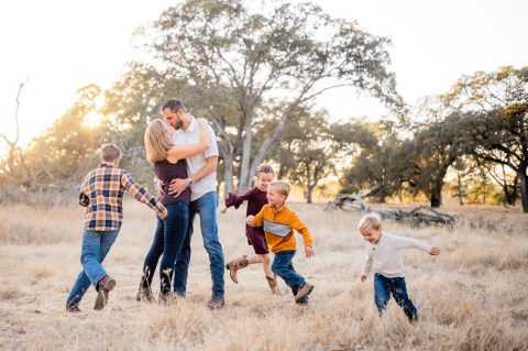 American River Parkway Family Portrait Photography