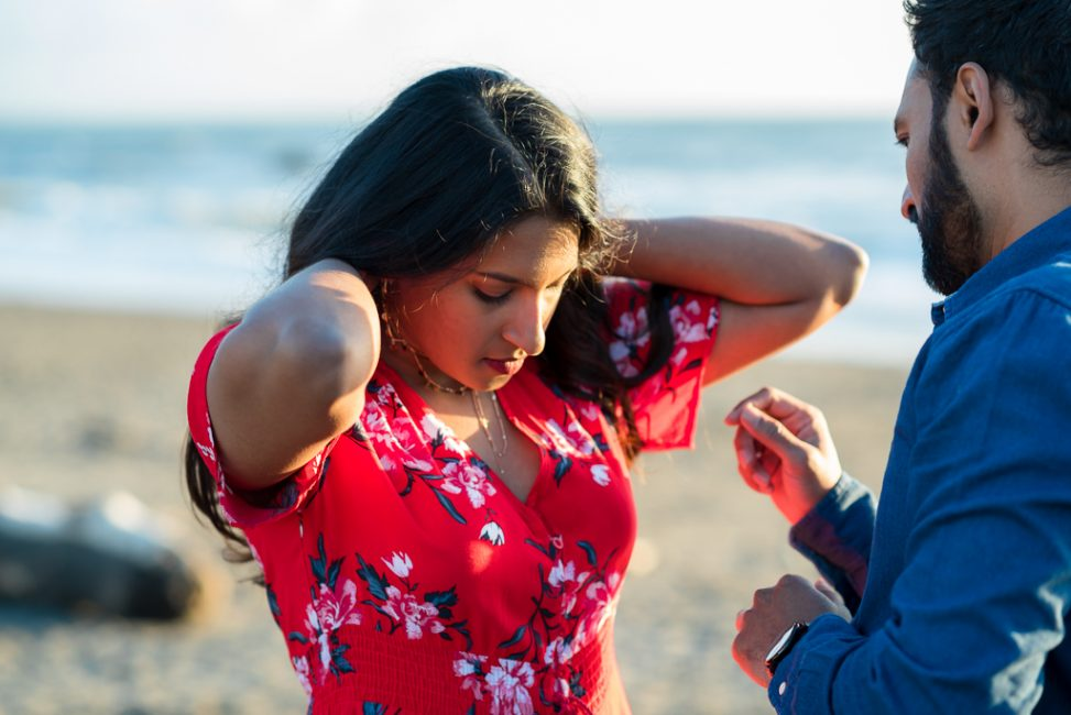 Muir beach engagement session