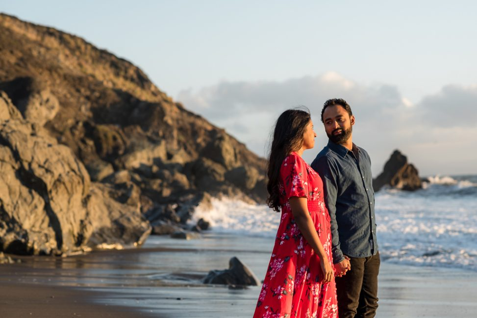 Muir Beach engagement photos