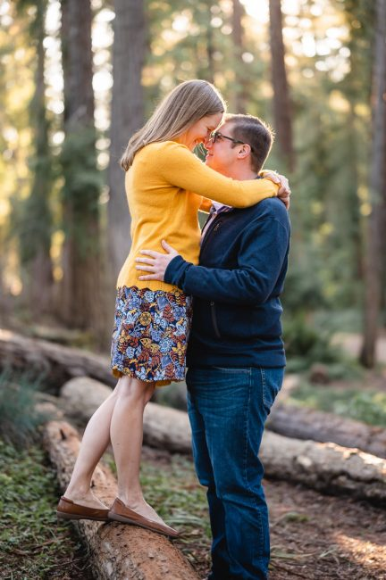UC Davis Arboretum Engagement Photo Session